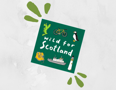 Revealing the Wild for Scotland Cover Art