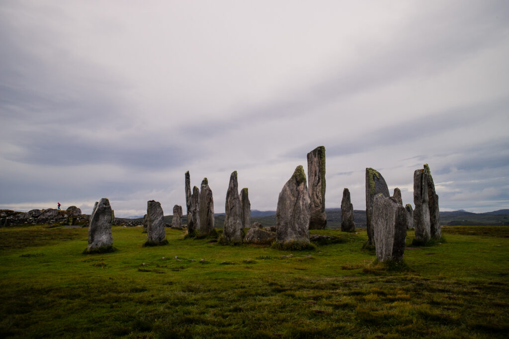 Callanish standing stones in the morning