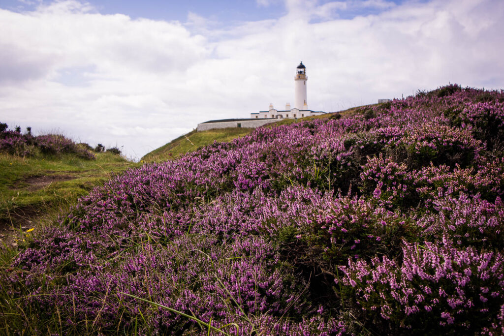 The Mull of Galloway lighthouse on the Rhins of Galloway peninsula