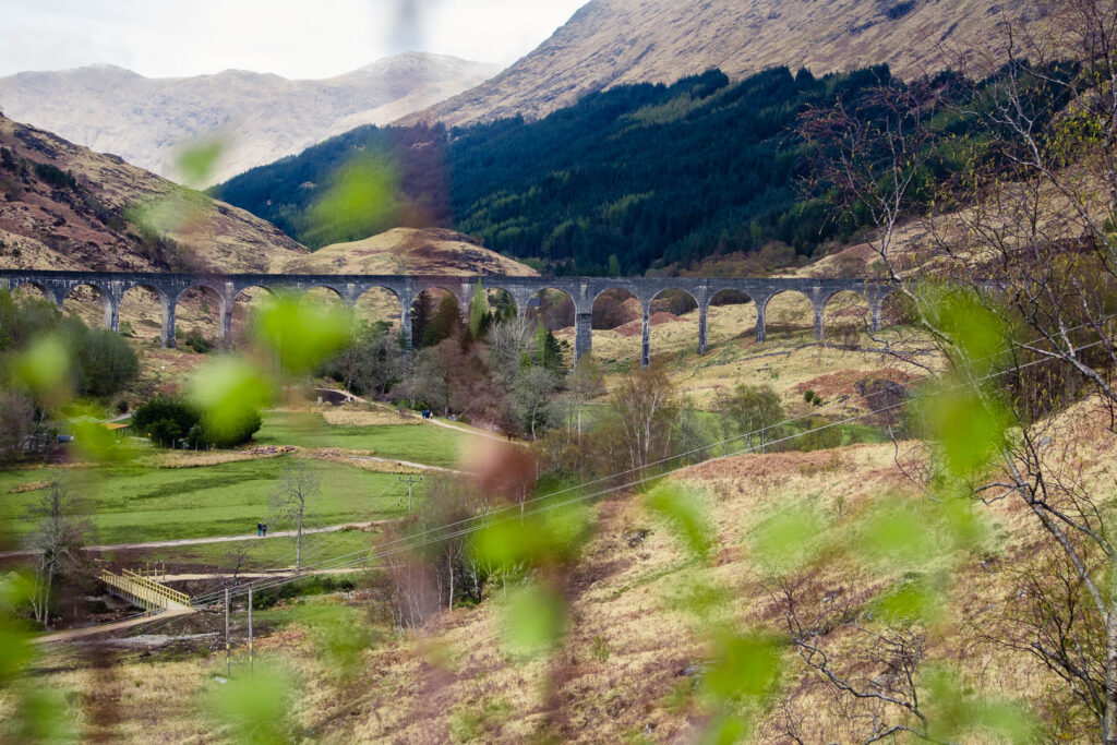 Glenfinnan Viaduct on the Road to the Isles