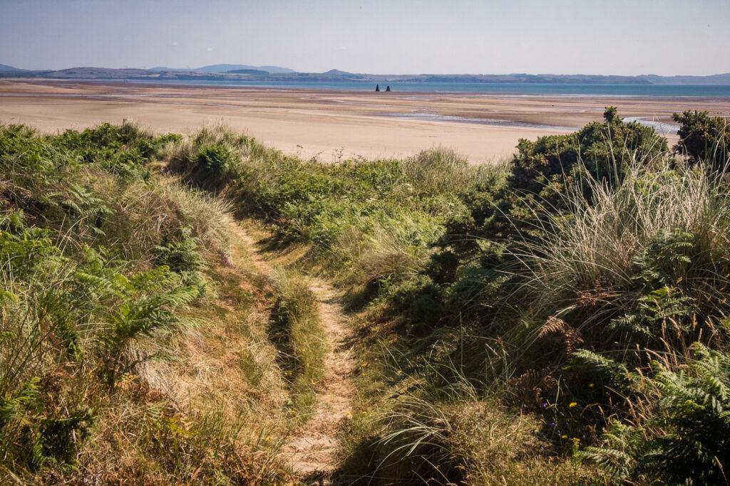 Sandhead beach on the Rhins of Galloway