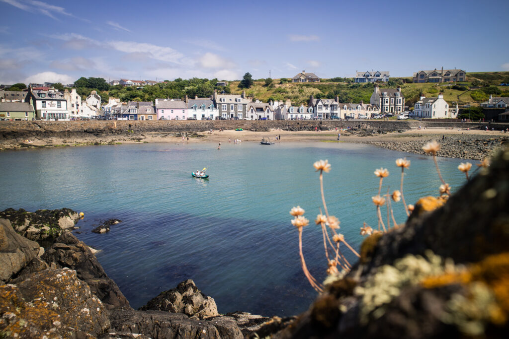Portpatrick on the Rhins of Galloway