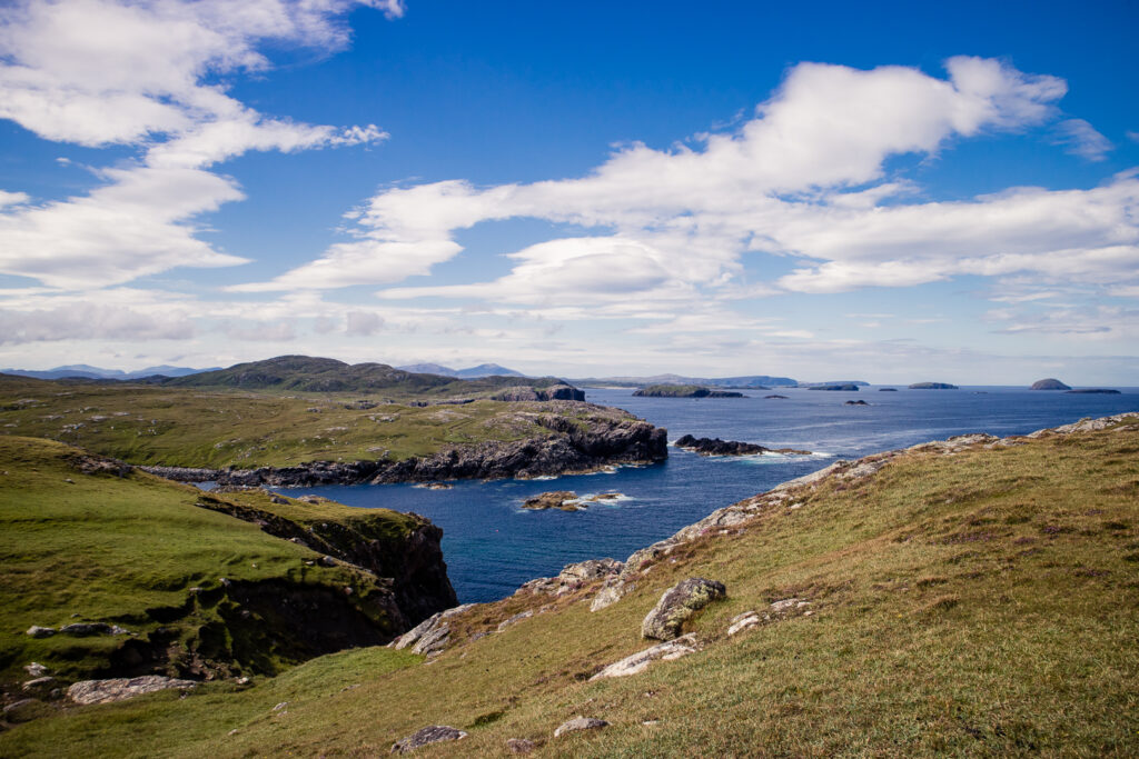 Views from the West Coast Walk on Lewis